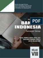Modul PJJ Bahasa Indonesia Kelas 8 Semester Genap-ok