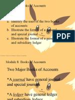 Module8 Books of Accounts