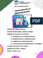 ANTOLOGIA DE MERCADOTECNIA-ALTO VALDEZ AIDALIDETH