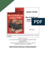 _Christie, Agatha - Der Unfall und andere Fälle