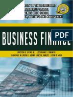 Finance Module 10 Managing Personal Finance