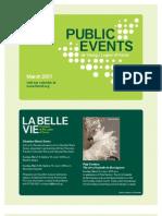 Public Events 2011