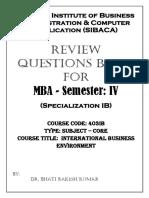 403 IB IBE QB