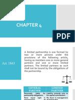 Chapter 4 - Partnership