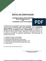 Edital de Convocação 2011-03-22