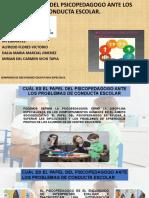 4x6!02!2021 Semianrio Diapositivas Cual Es El Problema Psicopedagogo en La Conducta Escolar