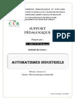 GE-Génié électrique_Electrotechnique.Dr.MILOUDI Med-Cours-AUTOMATISMES.INDUSTRIELS-L3-S6
