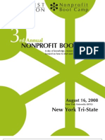 2008 Craigslist Foundation NY Tri-State Nonprofit Boot Camp Program (small)