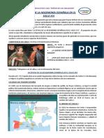 SESIÓN 21 DE CC. SS. 2do- LA HEGEMONIA ESPAÑOLA EN EL SIGLO XVI