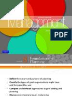 Foundation of Planning