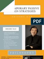 p.n.shweta- CONTEMPORARY PASSIVE DESIGN STRATEGIES