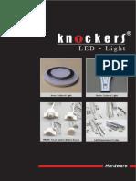 KNOCKERS KATALOG LED LIGHT