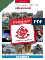 Sellos de Excelencia Turística de RedAragon 2020