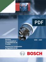 Catalogo Bombas Combustible Reguladores Presion Bosch Tecnologia Componentes Aplicaciones Tipos Kits Reemplazo