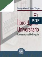 Torres Vargas el libro digital universitario  modelo de negocio