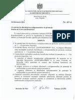 Dispozitia MSMPS Nr. 107 d Din 26.02.2021.Doc Romania 1