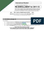 INTERNATIONAL-Re-enrollment all in one 2011-12