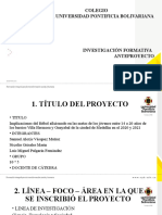 Presentación Anteproyecto 2020 1