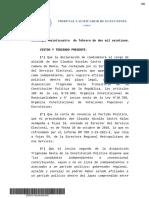 Resolución caso Claudio Castro