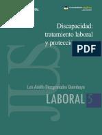 Discapacidad - tratamiento laboral y protección social - U Catolica de Colombia