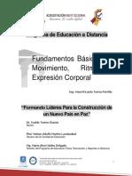 Modulo FUNDAMENTOS  BÁSICOS DEL MOVIMIENTO, RITMO Y EXPRESIÓN