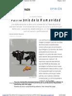 Sanchez Ferlosio Patrimonio de la humanidad