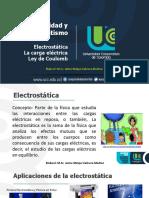 Clase 1. Electrostatica, Carga y Ley de Coulomb