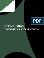 NOB-RH SUAS Anotada Comentada