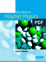 Cup - An Introduction To Polymer Physics (2002)
