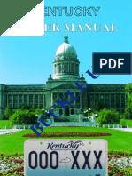 KY Driver's Manual