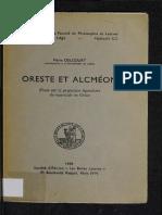 Oreste Et Alcmeon