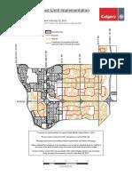 Neighbourhood Speed Limit Map Ward 10