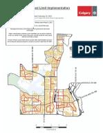 Neighbourhood Speed Limit Map Ward 11