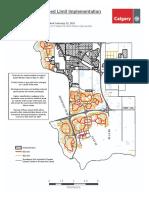 Neighbourhood Speed Limit Map Ward 12