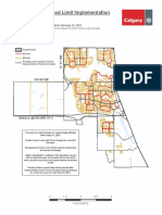 Neighbourhood Speed Limit Map Ward 13