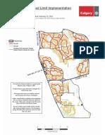 Neighbourhood Speed Limit Map Ward 14