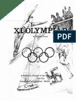 Historia Filatelica de XI Olímpiada