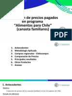 """""""Evaluación de precios pagados en Programa de Alimentos para Chile"""""""