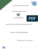 CURVAS DE COSTOS DE COMPETENCIA PERFECTA