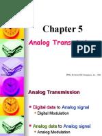 Chapter05 Analog Transmission