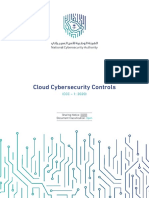 Cloud Cybersecurity Controls