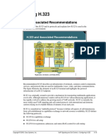 H.323 and Associated Recommendations.