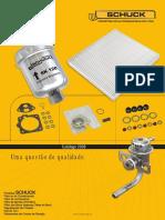 Schuck Filtros Catalogo