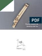 Flautas dobles de América del Sur