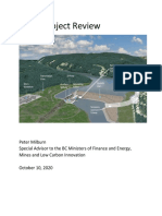 Site C - Summary Report by Special Advisor Peter Milburn