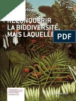 Fondapol Etude Christian Leveque Reconquerir La Biodiversite Mais Laquelle 02 2021