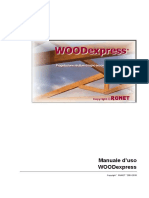 WOODexpress Manual en Italiano DEMO Software Calculo Legno