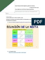 Actividad 6 Representación Algebraica y Gráfica de Relaciones