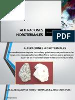 Grupo 4 Alteraciones Hidrotermales