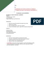 Língua Portuguesa Textos Com Interpretação Revisada .